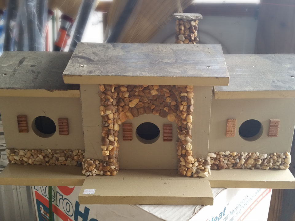 Bird Houses at Cherokee Feed & Seed in Ball Ground, GA