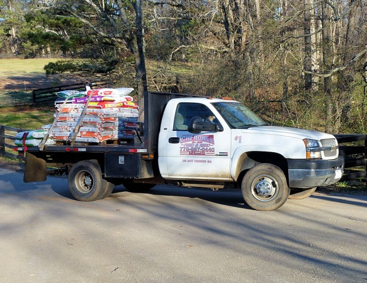 Cherokee Feed & Seed Delivery Truck