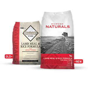 Diamond Naturals dog food is available at Cherokee Feed & Seed stores.