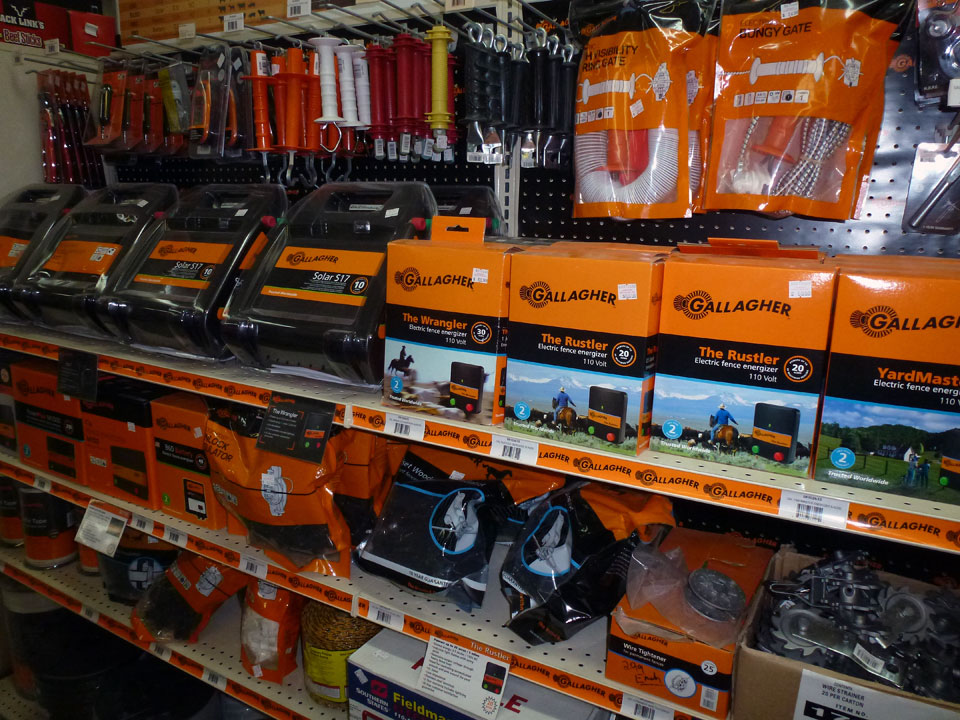 Electric Fence Supplies at Cherokee Feed & Seed