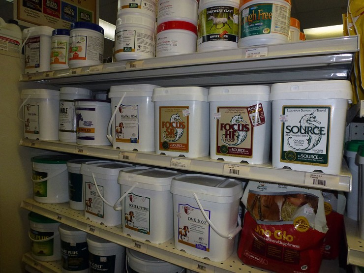 Equine Supplements at Cherokee Feed & Seed
