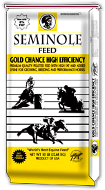 Seminole Gold Chance High Efficiency Horse Feed
