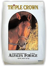 Triple Crown Alfalfa Forage Horse Feed