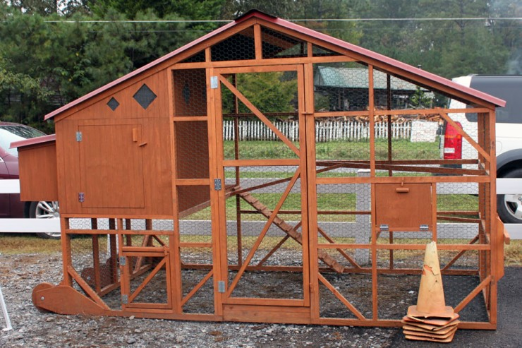 Unique Chicken Coops only available from Cherokee Feed & Seed stores