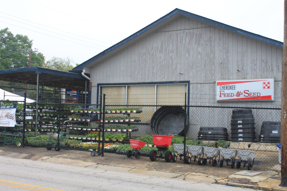Cherokee Feed & Seed store in Gainesville, GA