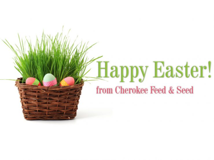Happy Easter from Cherokee Feed & Seed