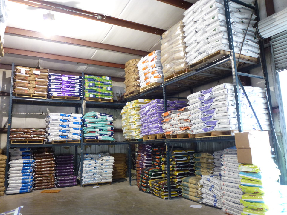 Warehouse at Cherokee Feed & Seed