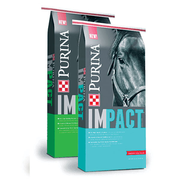 Purina Impact Pelleted Horse Feed