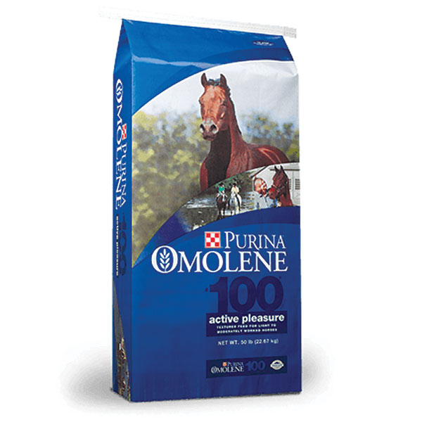 Purina Omolene 100 Pleasure Horse Feed