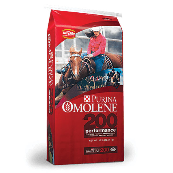 Purina Omolene 200 Performance Horse Feed