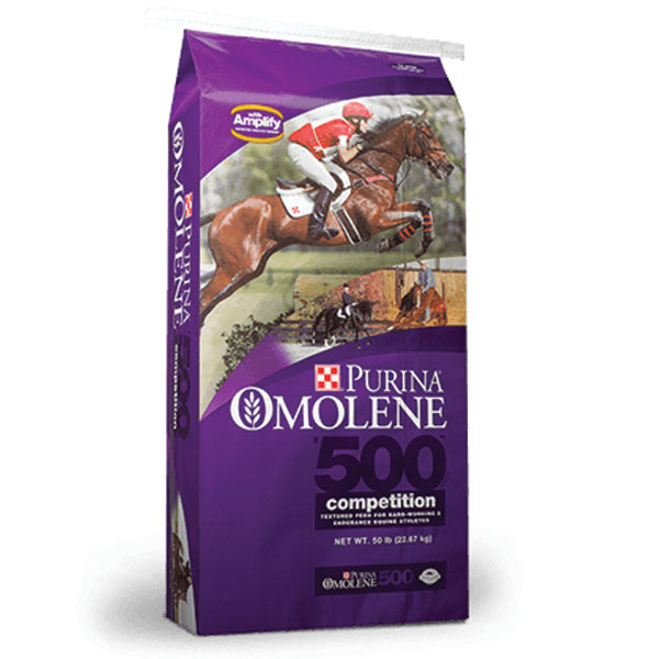 Purina • Omolene 500 Competition Horse Feed