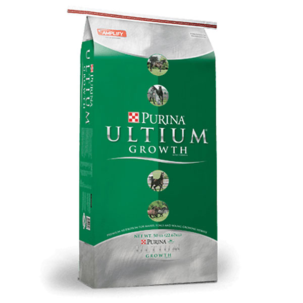 Purina Ultium Growth Pelleted Horse Feed