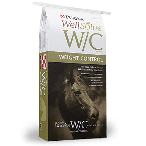 Purina Wellsove WC Weight Control Horse Feed