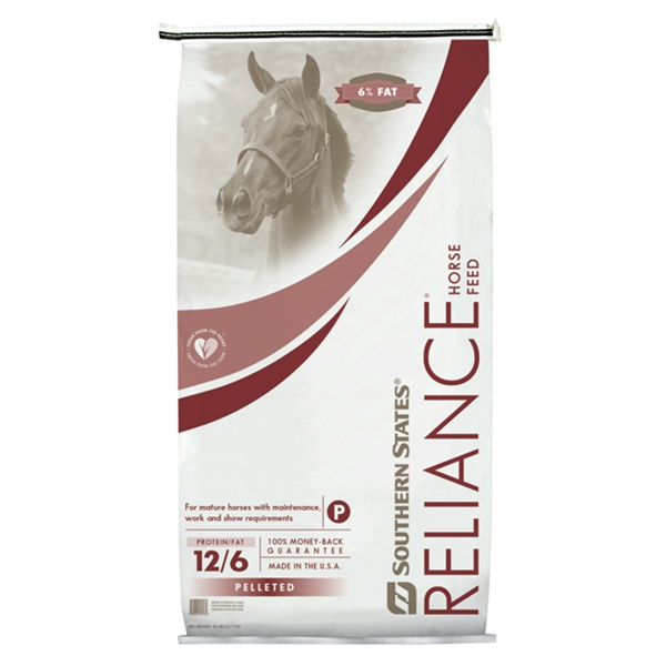 Southern States Reliance 12/6 Pelleted Horse Feed