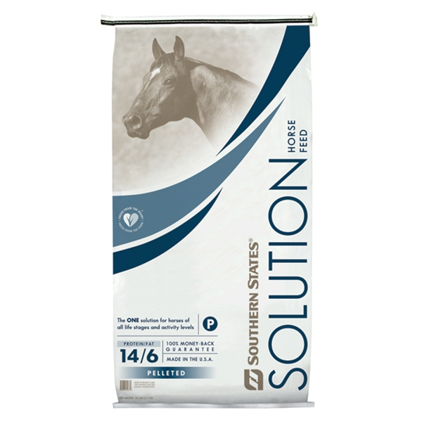 Southern States Solution Pelleted Horse Feed