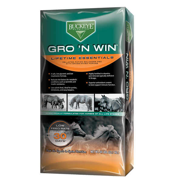 Buckeye Gro 'n Win is available at Cherokee Feed & Seed