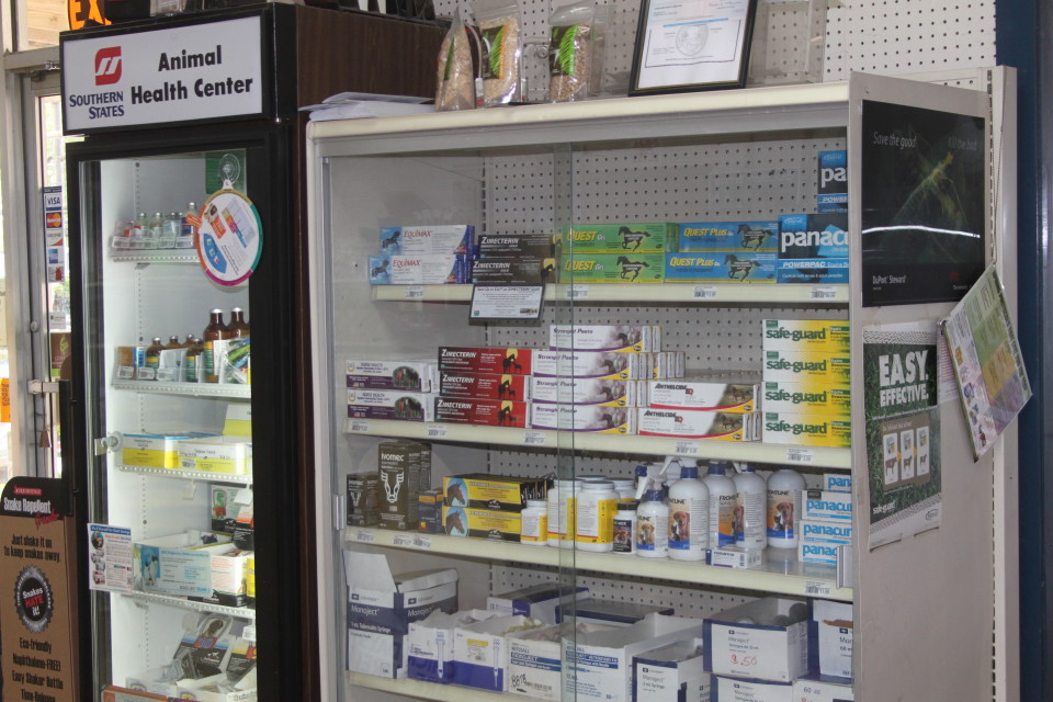Cherokee Feed & Seed has wormers and vaccinations for your livestock, horses and pets.