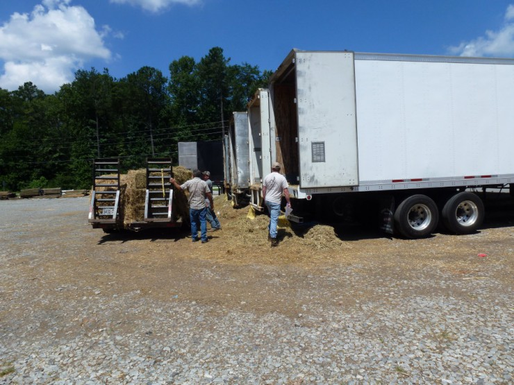 Cherokee Feed & Seed has many kinds of hay for pickup or delivery to your farm from Ball Ground, GA