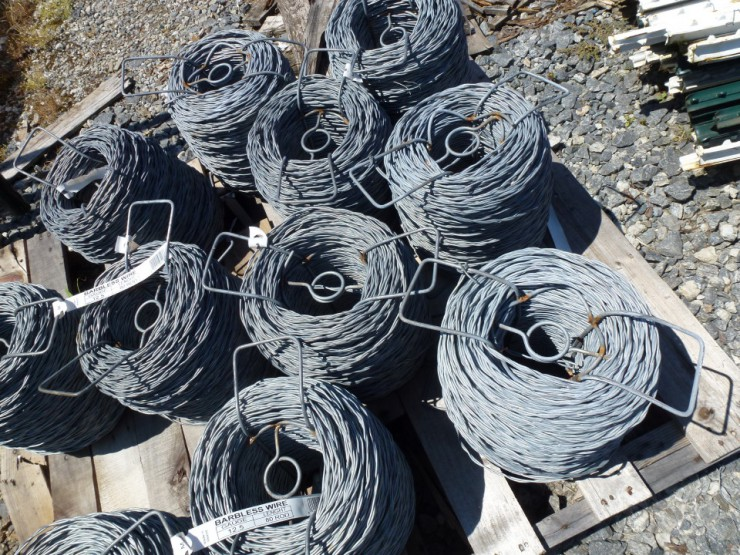Metal Wire Fencing at Cherokee Feed & Seed