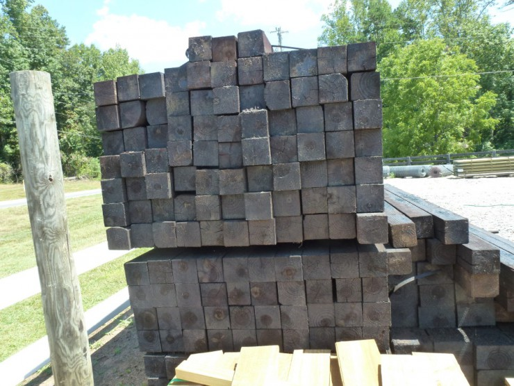 Four by Four Fence Posts at Cherokee Feed & Seed