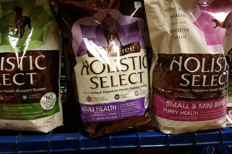 Holistic Select dog food is available at Cherokee Feed & Seed stores.