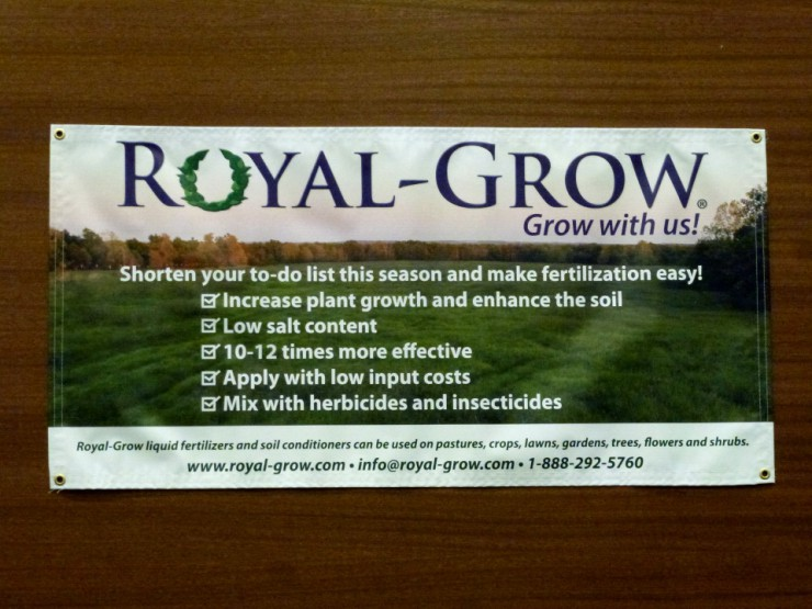 Royal-Grow Fertilizer at Cherokee Feed & Seed stores.