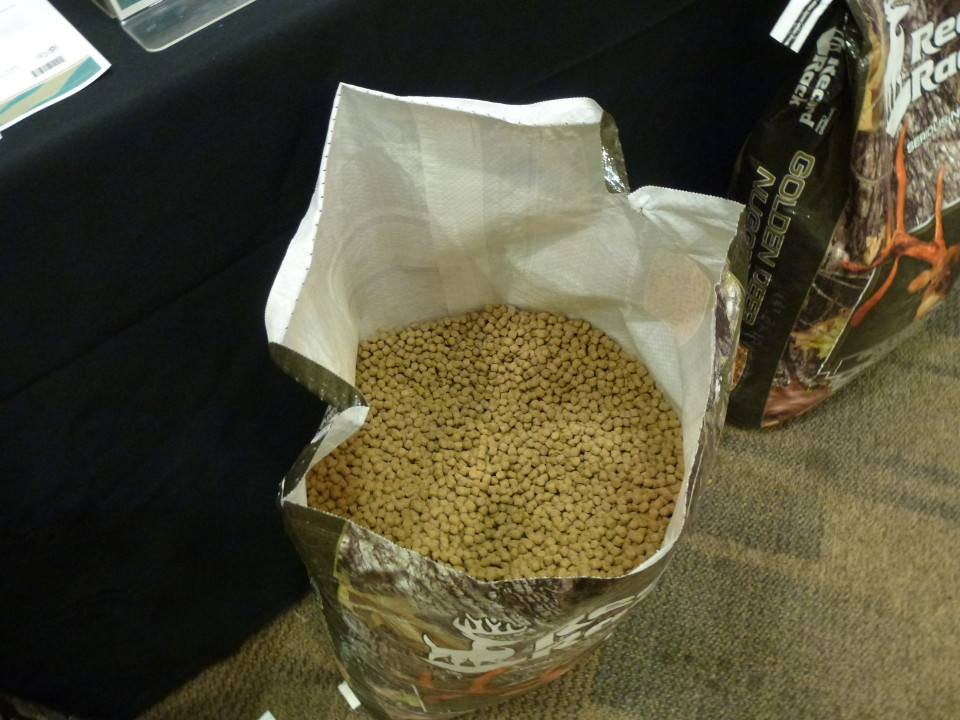 Deer feed and wildlife products are available at Cherokee Feed & Seed stores.