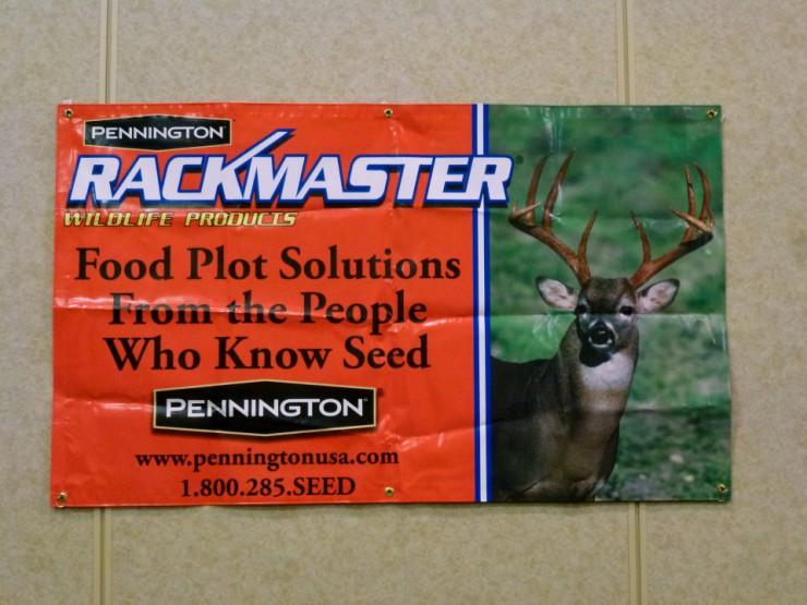 Pennington Rackmaster Wildlife products are available at Cherokee Feed & Seed stores.