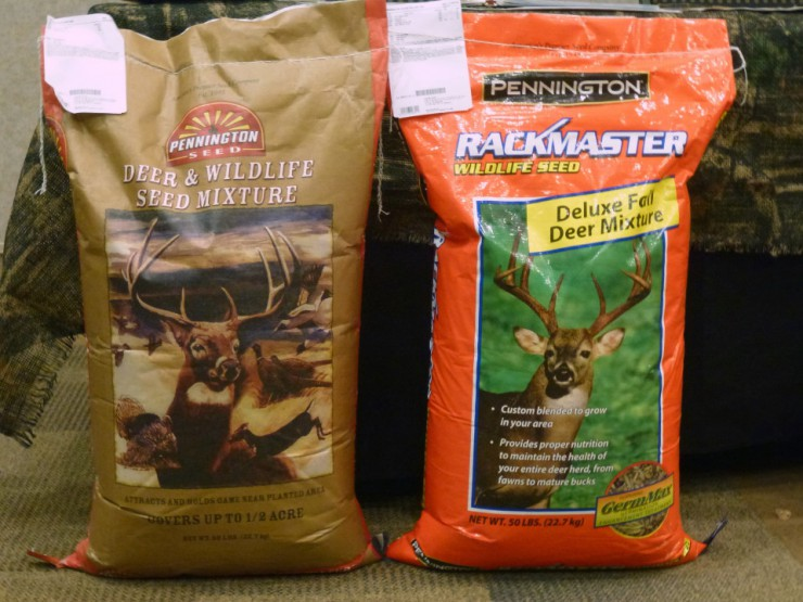 Pennington Deer & Wildlife seed is available at Cherokee Feed & Seed stores.