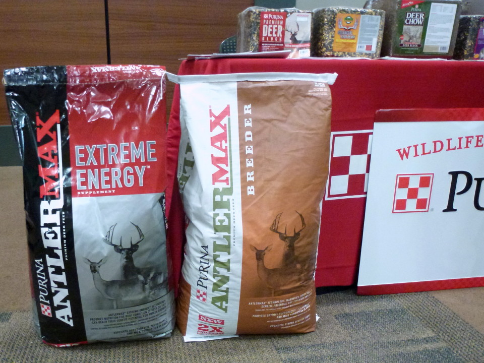 Find Purina AntlerMax deer feed at Cherokee Feed & Seed stores.