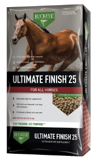 Buckeye Ultimate Finish is available at Cherokee Feed & Seed