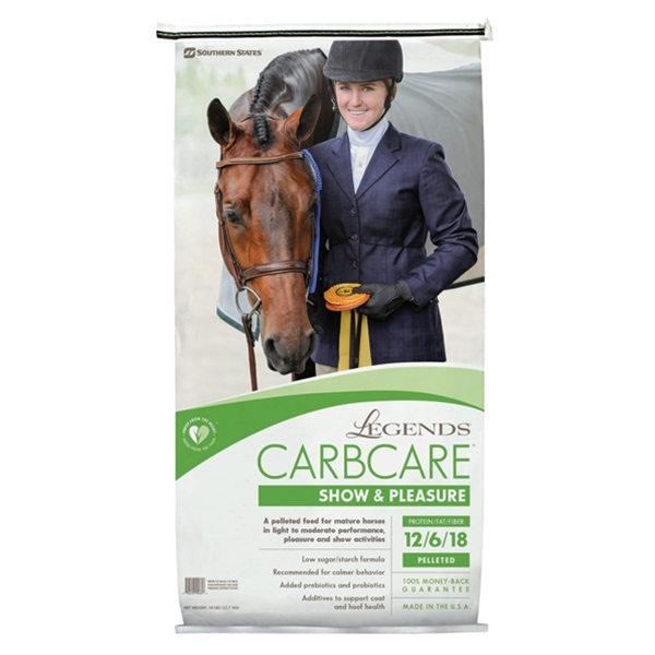 Legends CarbCare Show & Pleasure Pelleted Horse Feed