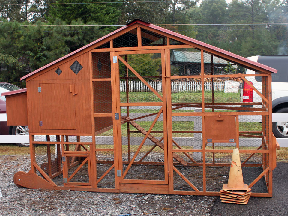 unique chicken coops only available from cherokee feed