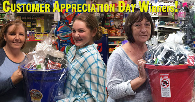 Customer Appreciation Day Winners 2015!