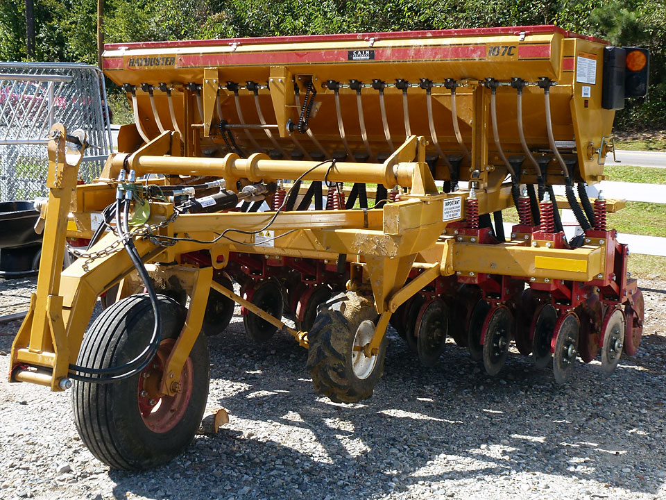 No-Till Seed Driller Rental is available at Cherokee Feed & Seed
