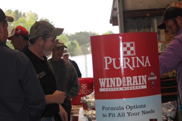 Purina Wind and Rain Cattle Mineral seminar at Cherokee Feed & Seed
