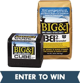 Sign up to Win the Big & J Deer Attractant/Southern States Sweepstakes!