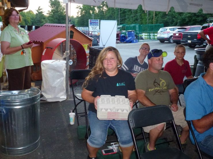 The Chicken Whisperer fans at Cherokee Feed & Seed