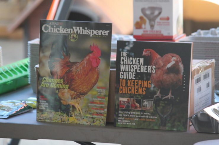The Chicken Whisperer Andy Schneider at Cherokee Feed & Seed