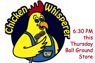 Meet the Chicken Whisperer at Cherokee Feed & Seed in Ball Ground, GA