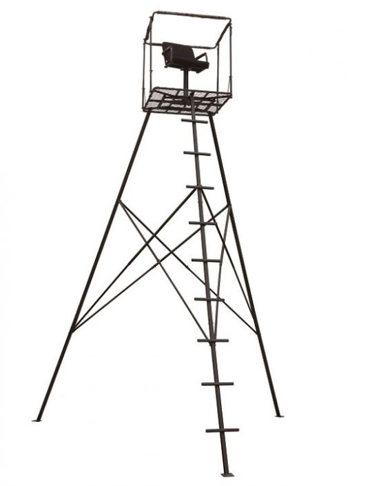 Big Dog 16' Free Standing Tripod, Command Tower, BDT-300