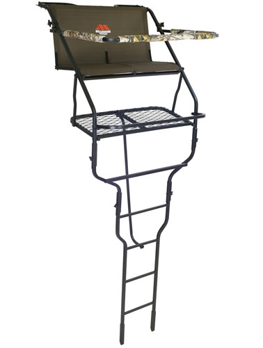 Millennium L200, 18' Double Ladder Tree Stand with Folding Seats
