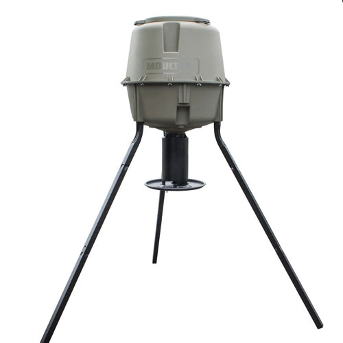 Moultrie 30-Gallon Dinner Plate Tripod Feeder