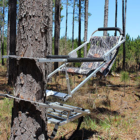 Gunslinger 250 and H.D. Gunslinger 350 Deer Tree Stands - Cherokee Feed & Seed - Georgia