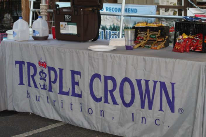 Triple Crown was a sponsor of the FREE Horse Health Seminar at Cherokee Feed & Seed in Ball Ground, GA