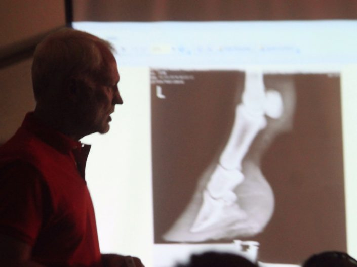 Jim Nash, DVM spoke about Lameness in Horses - x-ray