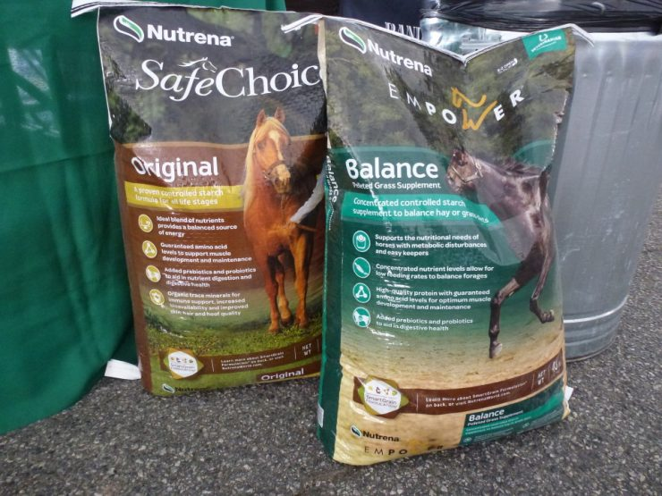 Nutrena SafeChoice Horse Feed available at Cherokee Feed & Seed - GA