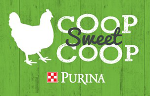 Purina Chicken Sign for Coops