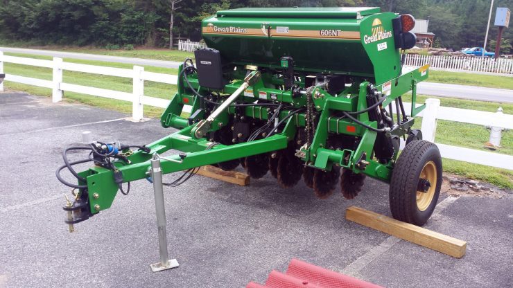 Grain drill seed drill rentals at Cherokee Feed & Seed stores