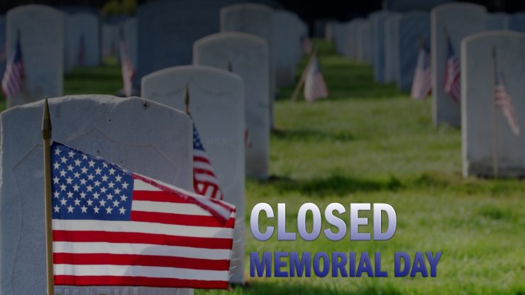Cherokee Feed & Seed stores will be closed on Memorial Day